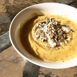 Cauliflower and Pumpkin Soup