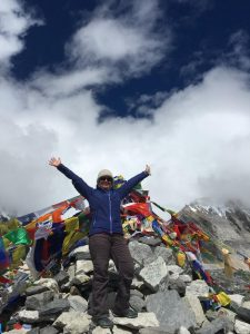 Smashing your goals Everest Base Camp Nepal