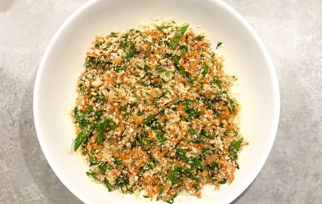 Asian 'Rice' Salad