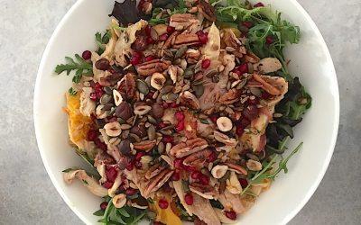 Warm Turkey Salad