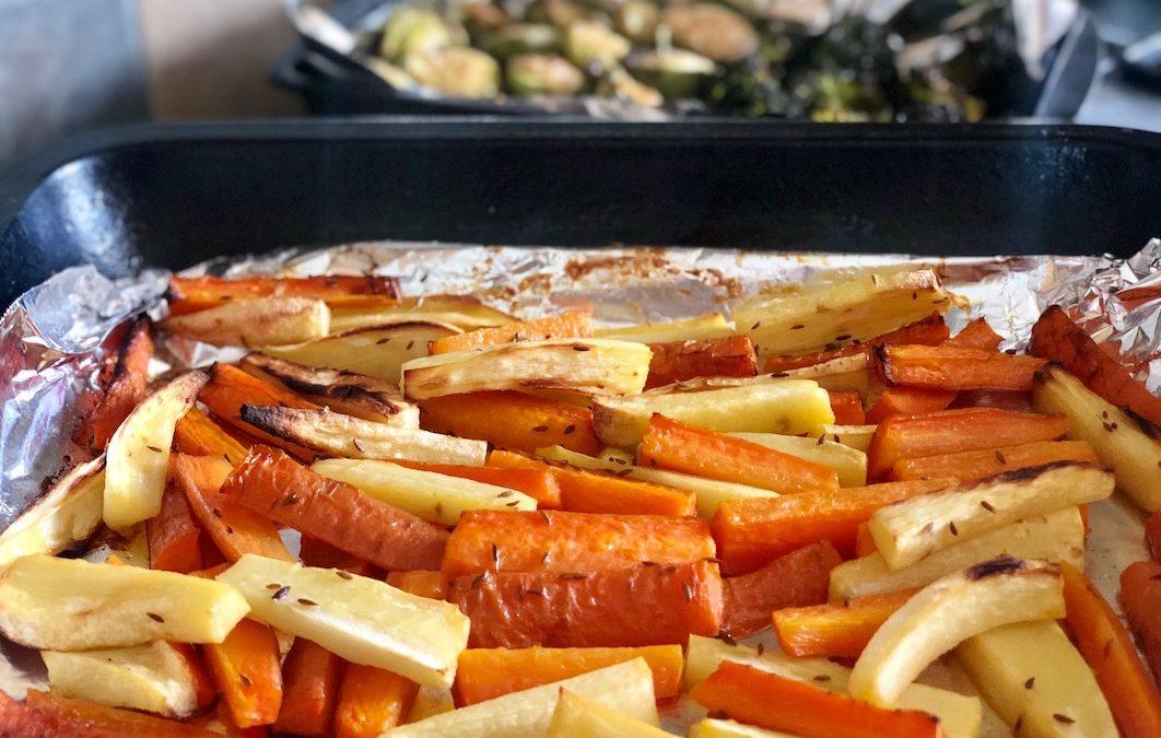 Cumin Roasted Carrot + Parsnip