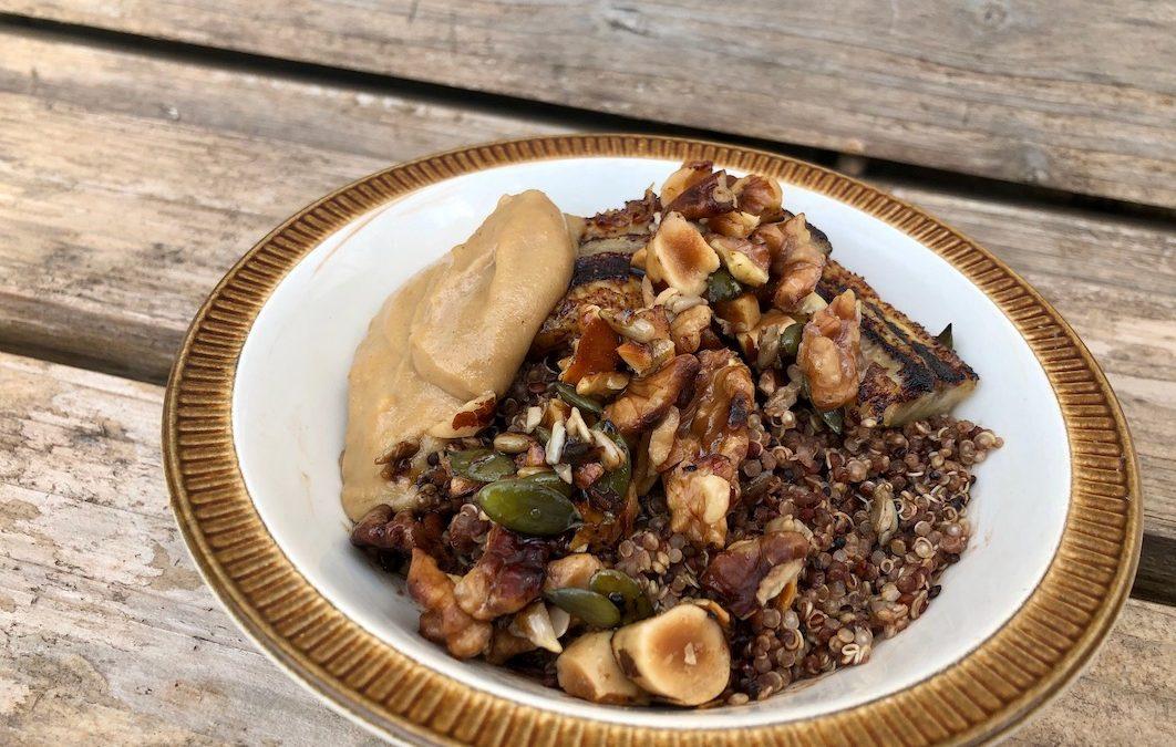 Choc-Caramel Quinoa Porridge
