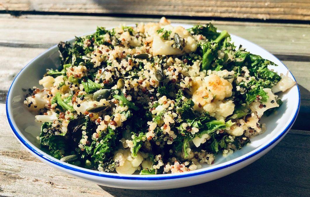 Kale + Cauliflower Salad