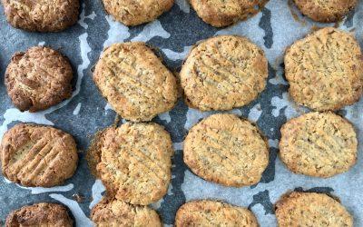 Lemon + Chia Cookies