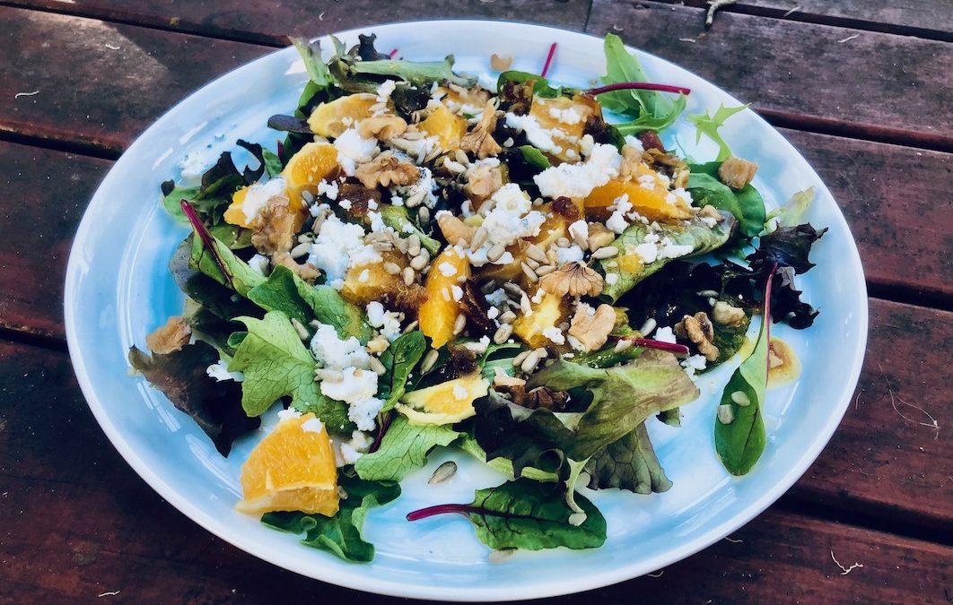 Date + Mandarin Salad